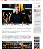 drewtal musee magazine interview